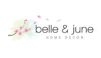 belleandjune.com store logo