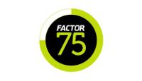 factor75.com store logo