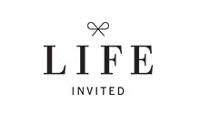 lifeinvited.com store logo